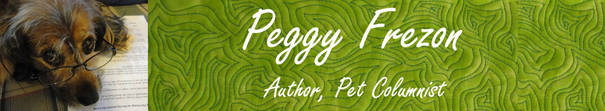 Peggy Frezon - Author, Pet Columnist
