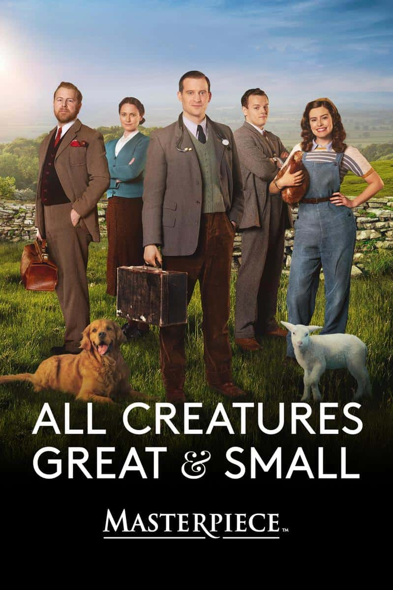 Let's WOOF about the series All Creatures Great and Small on PBS