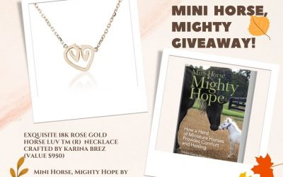 Mini Horse, Mighty Giveaway!
