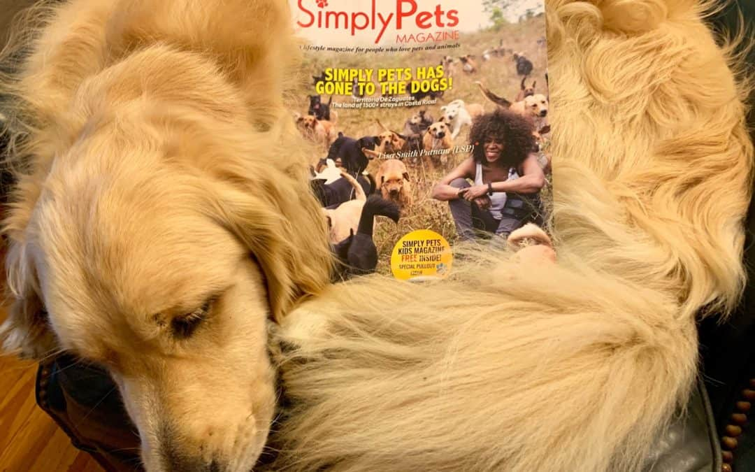 Petey Curls Up with a Great Magazine
